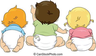 Rückblick auf Kleinkinder