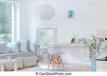 Raffiniertes Zimmerdesign.