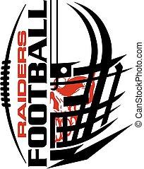 Raiders Football.