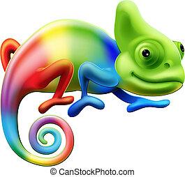 Rainbow Chamäleon