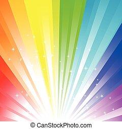 Rainbow Hintergrund