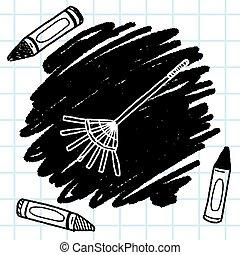Rake doodle.