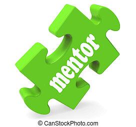 rat, mentoren, mentoring, mentor, puzzel, shows