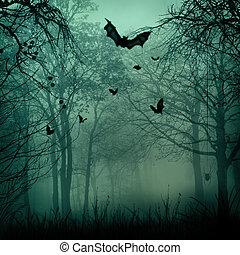 raum, halloween, abstrakt, hintergruende, design, kopie, dein