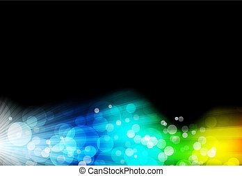 Raum mit leuchtendem Hintergrund deaktivieren
