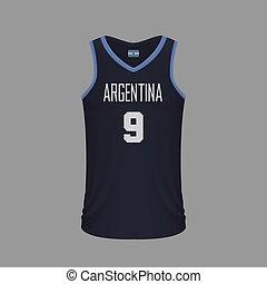 realistisch, basketball, mã¤nnerhemd