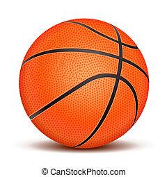 Realistischer Basketballball