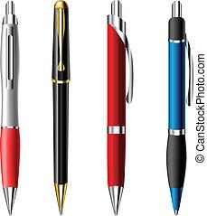 Realistischer Kugelschreiber
