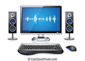 Realistischer Multimedia-Computer
