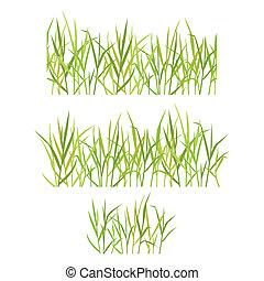 Realistisches grünes Gras