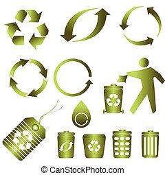Recycling für saubere Umwelt