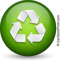Recyclingschild