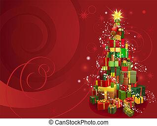 Red Christmas Hintergrund