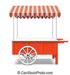 Red Farmer's Market Car.
