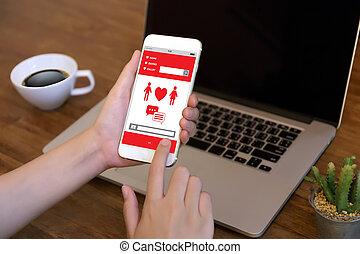 Red heart online Dating finden Liebe Dating Paar Dating Glück Tipps.