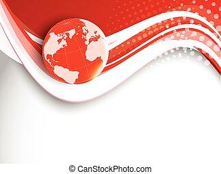 Red Tech Hintergrund