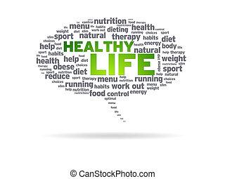 Redeblase - gesundes Leben