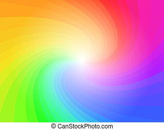 regenbogen, abstrakt, bunte, hintergrundmuster