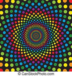 Regenbogenkreise