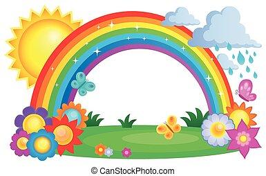 Regenbogenthema Bild 2.