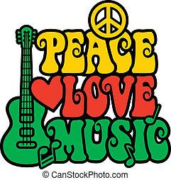 Reggae Peace Love Music