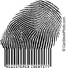 Registrierte Identität.