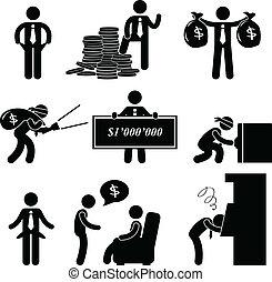 Reiche und arme Menschen fotografieren