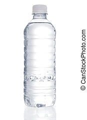 Reine Wasserflasche