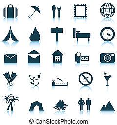 Reise-Ikonen bereit