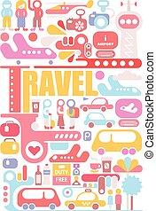 Reisevektorgrafik