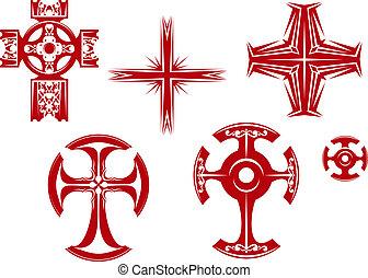 Religiöse Kreuze