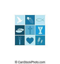 Religiöse Symbole für Jungs