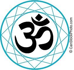 Religiöses Symbol des Hinduismus.