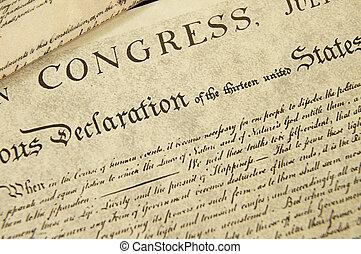 Replica der USA. Unabhängigkeitserklärung, Schließung