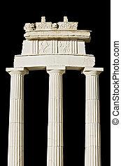 Replica eines antiken griechischen Tempels (Ziehen)