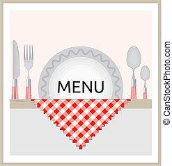 Restaurant-Menü-Design