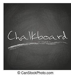 Retro-Black-Calkboard Hintergrund mit Text-Eps 10.