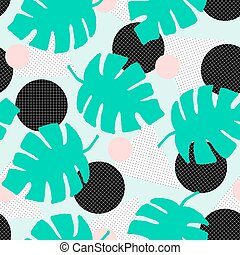 Retro-Geometrisches Muster