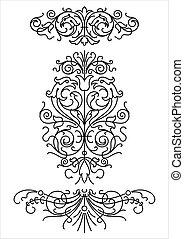 Retro Ornamente (Vektor)