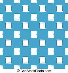 Retro Scrollpapier Muster nahtlos blau