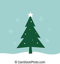 Retro-Weihnachtsbaum