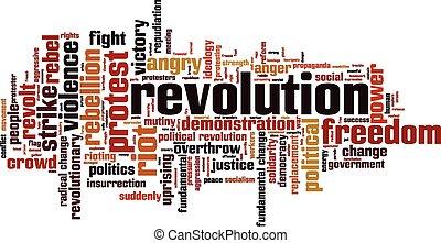 Revolutionswortwolke