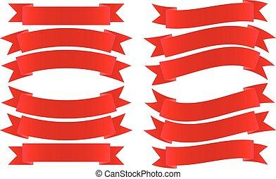 Ribbon Banner rot.