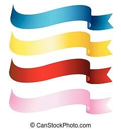 Ribbons, Banner