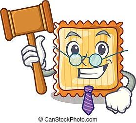 Richter Lasagne wird in Zeichentrickplatten serviert.