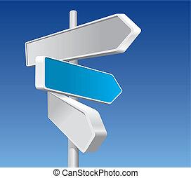 Richtungsschilder (Vektor)
