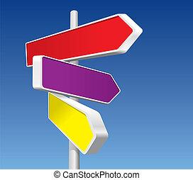 Richtungszeichen (Vektor)