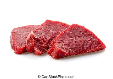 Rindfleischsteak.