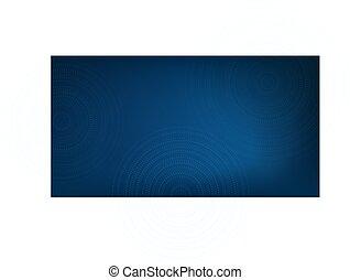 rings., kreise, oder, haben abbildung lager, vektor, hintergrund, gestrichelt, verwischen, blaues