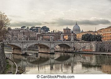 River Tiber in Rom
